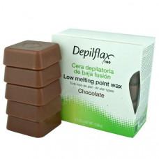 Воск горячий Depilflax Шоколад