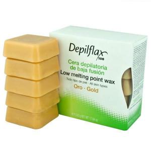 Воск горячий Depilflax Золотой
