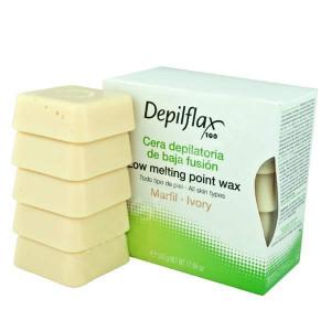 Воск горячий Depilflax Слоновая кость