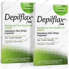 Полоски с воском Depilflax