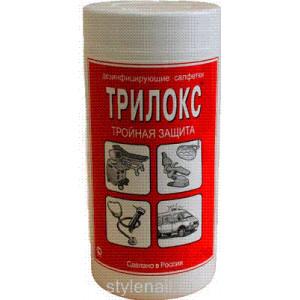 Дезинфицирующие салфетки Трилокс запасной блок