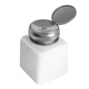 Дозатор для жидкостей пластик с металлической крышкой